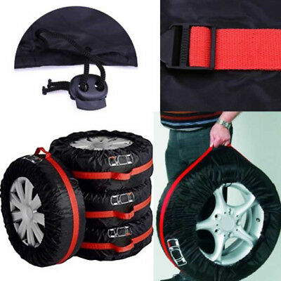 Car Spare Tyre Tire Cover Heavy Duty Waterproof Vehicle Wheel Protective Case LG