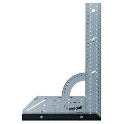 Wolfcraft Squadra universale 300 mm con dispositivo d'arresto 5205000#
