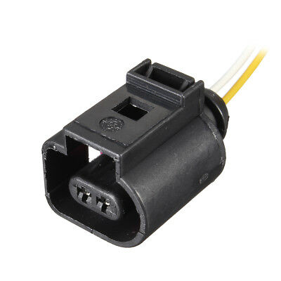 2 Pin Electrical Harness Wiring Connector For VW Audi 1J0973702 1J0973775A