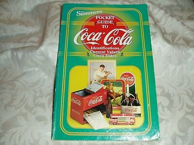 "Pocket Guide to  ""COCA-COLA""  Book By BJ Summers 1998"