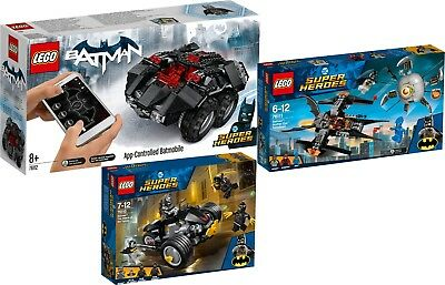 LEGO DC Comincs Super Heroes Batman 76112 76111 76110 Batmobile N8//18