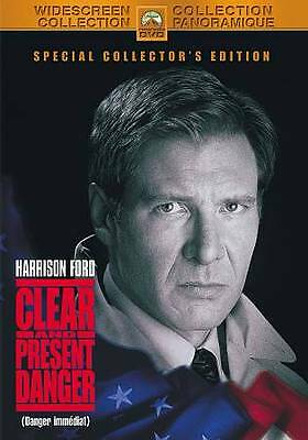 Clear and Present Danger (DVD, 2010, Canadian)