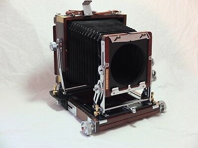 Excellent Tachihara 4x5 Fiel Stand cherry wood camera - as new!