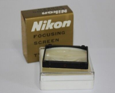 GENUINE NIKON F / F2  FOCUSING SCREEN TYPE C : matte field with 5mm center spot