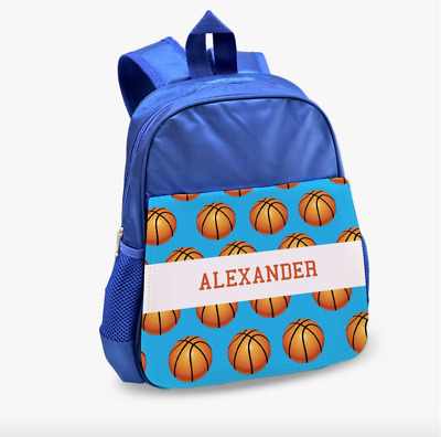 Personalized Basketball Kids Backpack