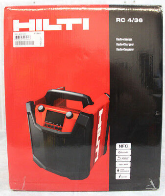 *NEW IN BOX* Hilti Radio-charger RC 4/36 120V