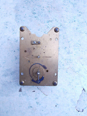 Swiss made Buren Carriage Clock 8 Day Clock Movement Spares Repair