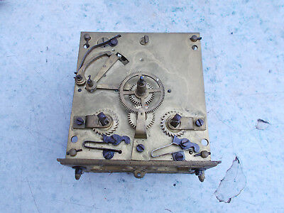 German Vienna Clock Movement Spares or Repair
