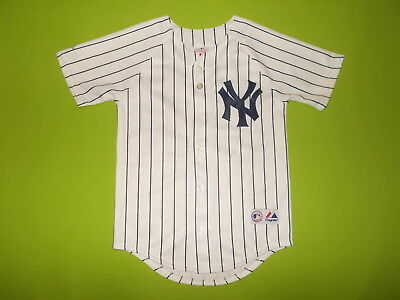 Jersey NEW YORK YANKEES (Youth S)(8 years) MAJESTIC 53 B ABREU 2006/2008 PERFECT