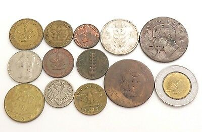 Deutschland/Germany/Italy Random Age Various Collectible Coins Lot of 37