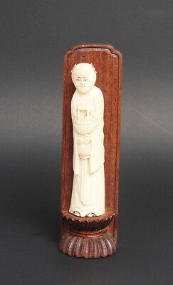 Antique Chinese Statue Figurine Carving