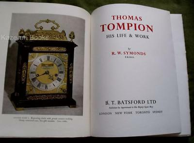 Signed Limited Edition Horology Book Thomas Tompion Life & Work R Symonds 1951
