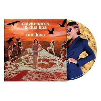 "Calvin Harris & Dua Lipa - One Kiss - New 12"" Picture Disc"