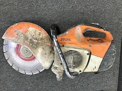 Stihl  Ts 420 Gas Concrete/re-Bar Cut-Off Saw
