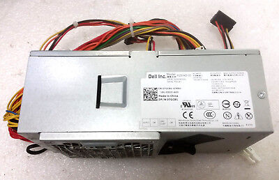DELL OPTIPLEX 390, 790, 990, 3010 DT Power Supply, 250W PN: HY62D