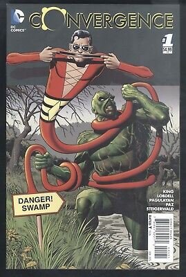 Convergence #1 Bolland Swamp Thing 1:25 Variant Cover Comic Book VF Very Fine