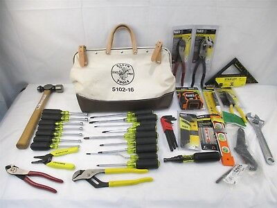 Kline Tools 80028 28-Piece Electrician's Hand Tool Set With Extras