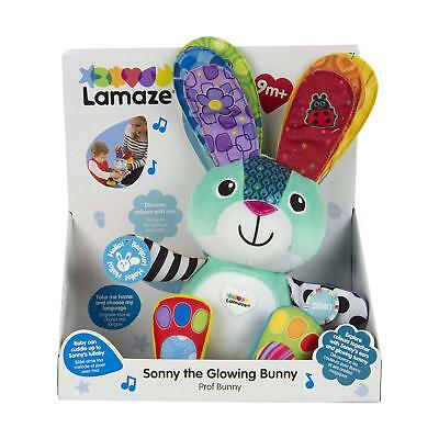 Lamaze Sonny the Glowing Bunny with Light Up Tummy Baby & Toddler Activity Toy