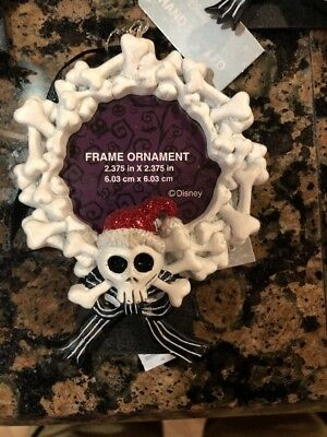 Disney Nightmare Before Christmas Santa Jack Picture Frame Ornament New Release