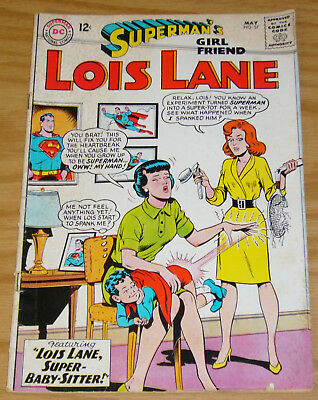 Superman's Girl Friend Lois Lane #57 VG may 1965 - spanking cover - silver age