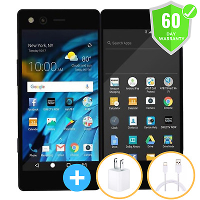 ZTE Axon M 64GB Z999 (AT&T) GSM Unlocked Dual Screen Cell Phone New Other