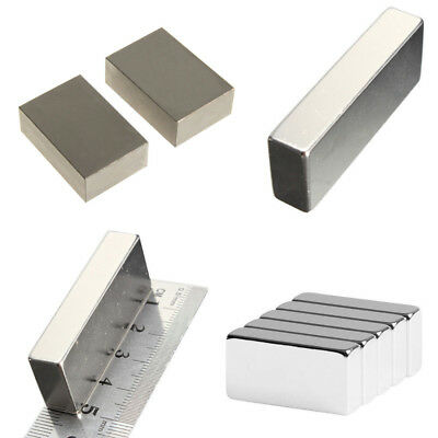 "Wholesale Super Block Magnets All Big Size Rare Earth Neodymium N52  2"" 1"" 1/2"""