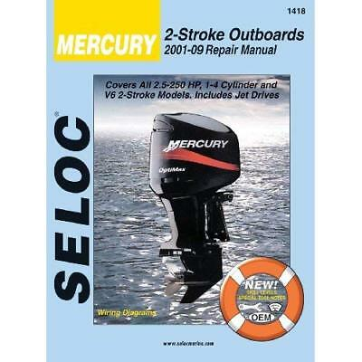 Merc/Marine Outboards 2001-04 (Seloc Marine Manuals) - Paperback NEW SELOC 2005-