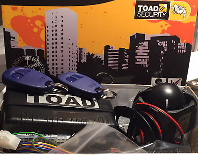 Toad Alarm A101cl, Toad car & van Alarm,ultrasonics,immobiliser,tech support,new
