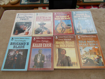 8,Linford Western Library Books / Large Print