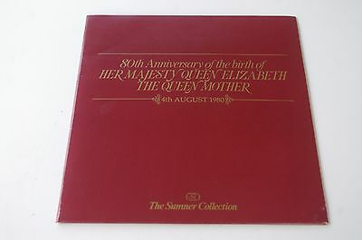 80th anniversary of the queen mother special booklet
