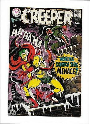 "Beware The Creeper #1 [1968 Vg-Fn] ""where Lurks The Menace?"" Ditko Art"