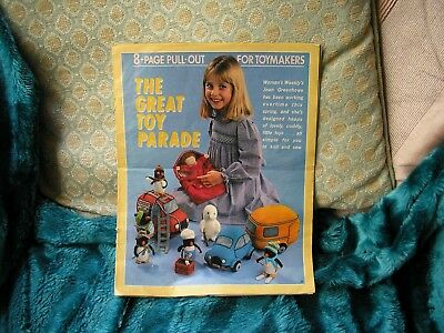 Jean Greehowe,great Toy Parade Knitting & Sewing Patterns