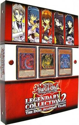 Yu-Gi-Oh GX Legendary Collection 2: The Duel Academy Years Binder [Sealed]