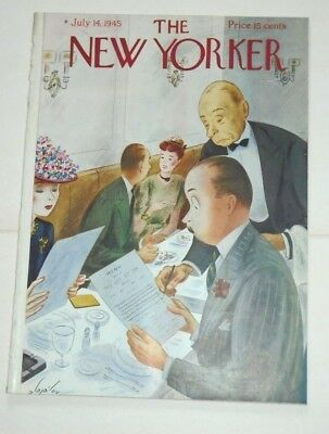 THE NEW YORKER   JUL, 14th  1945