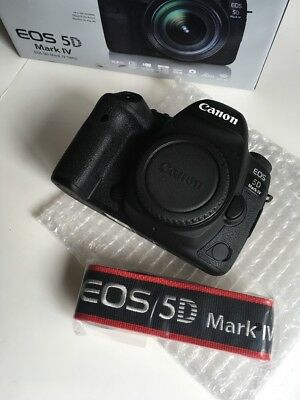 BRAND Used Canon EOS 5D Mark IV Digital SLR Camera (Body Only)