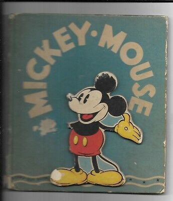 1936 Walt Disney Mickey Mouse A Stand-Out Book US First Edition Book
