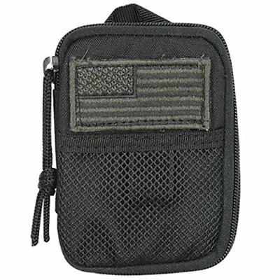 Voodoo Tactical 15-843601000 Black Compact BDU Wallet Pouch