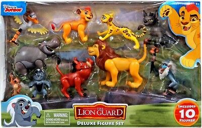 Disney The Lion Guard Deluxe Exclusive Figure 10-Pack