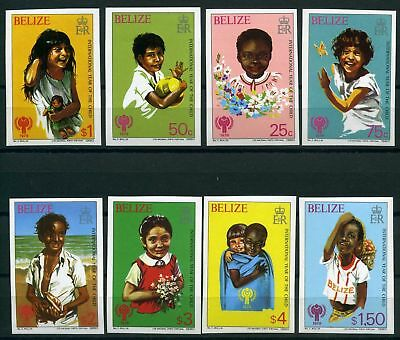 Belize MiNr. 2091-96 B postfrisch/ MNH Internationales Jahr des Kindes (Q8590