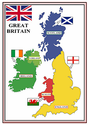 A4 Poster Sign Educational Nursery SEN Children Kids Childminders Great Britain