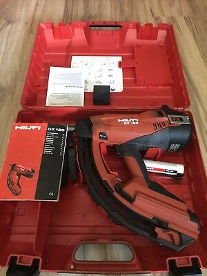 Hilti GX 120 Gas Autuated Fully Automatic Fastening Nail Gun