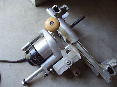 Porter Cable Lock Mortiser #513 Mortise Jig Machine 537 Rockwell Router