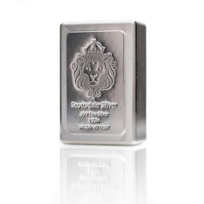 1 KILO Scottsdale STACKER® Silver Bar - 1 kg .999 Silver Bullion  #A131