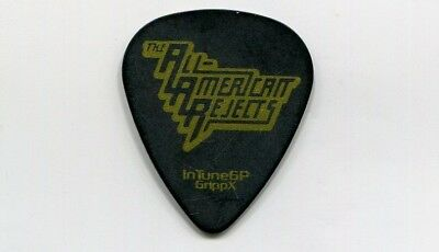 ALL AMERICAN REJECTS Concert Tour Guitar Pick!!! NICK WHEELER custom stage Pick
