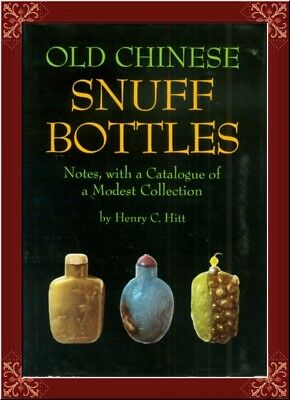 Antique Chinese Snuff Bottles!--Collector's Bible! Detailed! Rare!