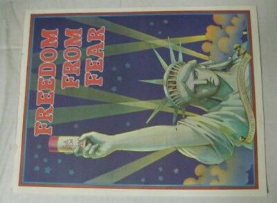 Vintage Soft & Dri Anti-Perspirant Freedom From Fear Statue of Liberty Posters