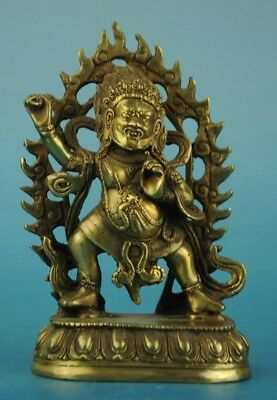 china Tibet old copper Hand Made antique Buddha statue d02