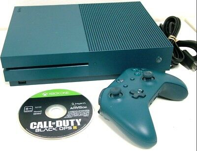 Microsoft Xbox One S 500Gb Blue Console 1681 + Controller + Call Of Duty Iii 3