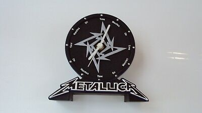 Metallica time marches on clock 2002