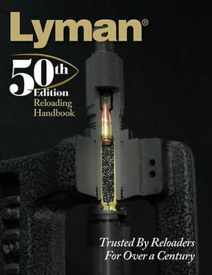 Lyman 50th Reloading Handbook Softcover 528 Pages Book: 9816051